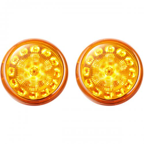 Custom Dynamics ProBeam LED Blinkers Insatser, Orange