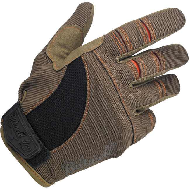 BILTWELL HANDSKE - MOTO BRUN/ORANGE