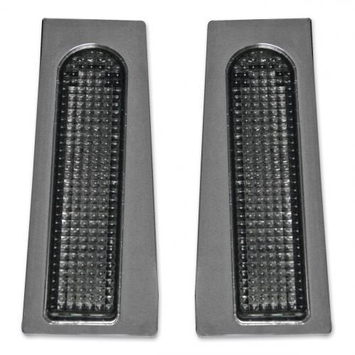 Custom Dynamics Fillerz™  LEDs för extra bakljus. Krom med rökfärgad Lins (Smoke)