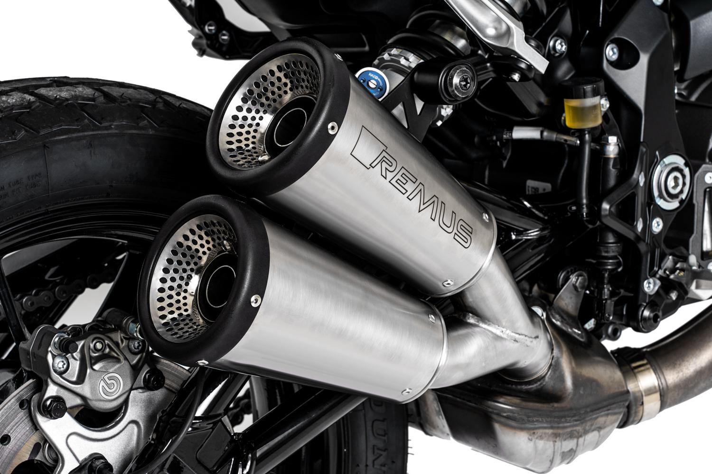 Remus Avgassystem till Indian FTR1200/S 19- Matt Rostfritt Stål