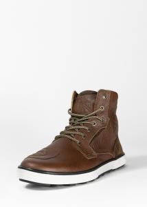 John Doe Shifter MC-Sneaker, Brunt Läder