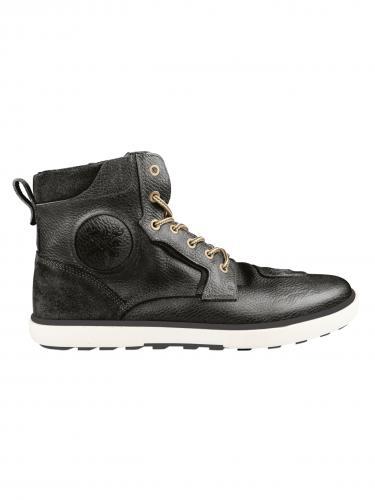 John Doe Shifter MC-Sneaker, Svart Läder