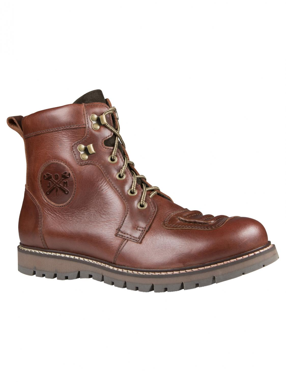 John Doe MC Shoes | Daytona, Brown Leather| CE Approved