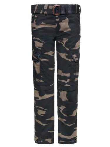 John Doe Slimcut Cargo Kamouflage Med Kevlar®