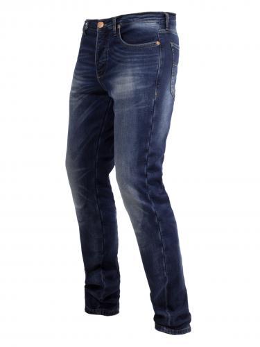 Mörk blåa helfodrade kevlar jeans från John Doe