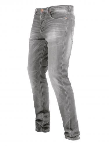 Ljus gråa helfodrade kevlar jeans från John Doe