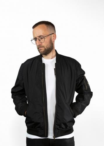 John Doe Flight Jacket with Kevlar®, Black