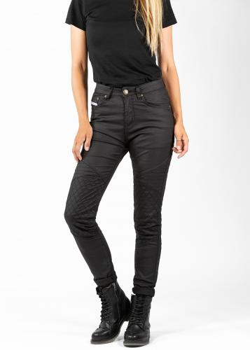 John Doe Betty Biker Jeggings Svart med Kevlar®​