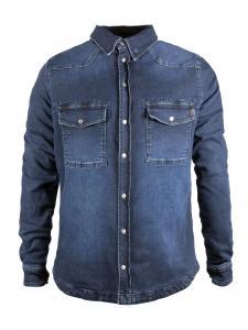 John Doe MOTO-kevlarskjorta, Mörkblå Used
