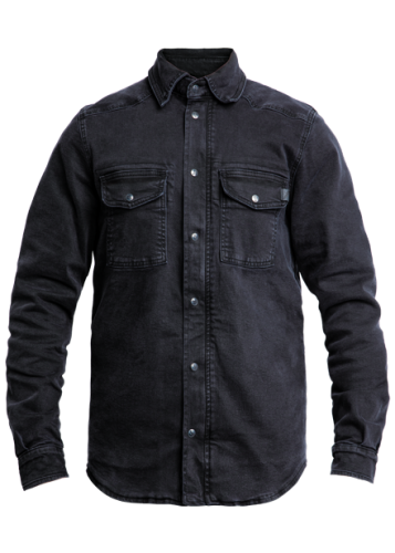John Doe Moto Kevlarskjorta, Denim Svart