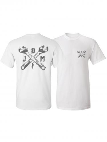 John Doe T-Shirt Classic Vit