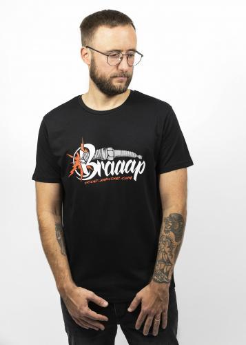 John Doe T-Shirt Brraap Black