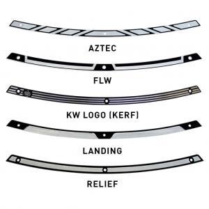 Klock Werks Svart Trimlist för vindrutan på din Harley Davidson FLH 2014+