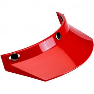 Biltwell Moto Visir - Röd