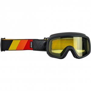 Biltwell Overland 2.0 Tri-Stripe Goggle Svart