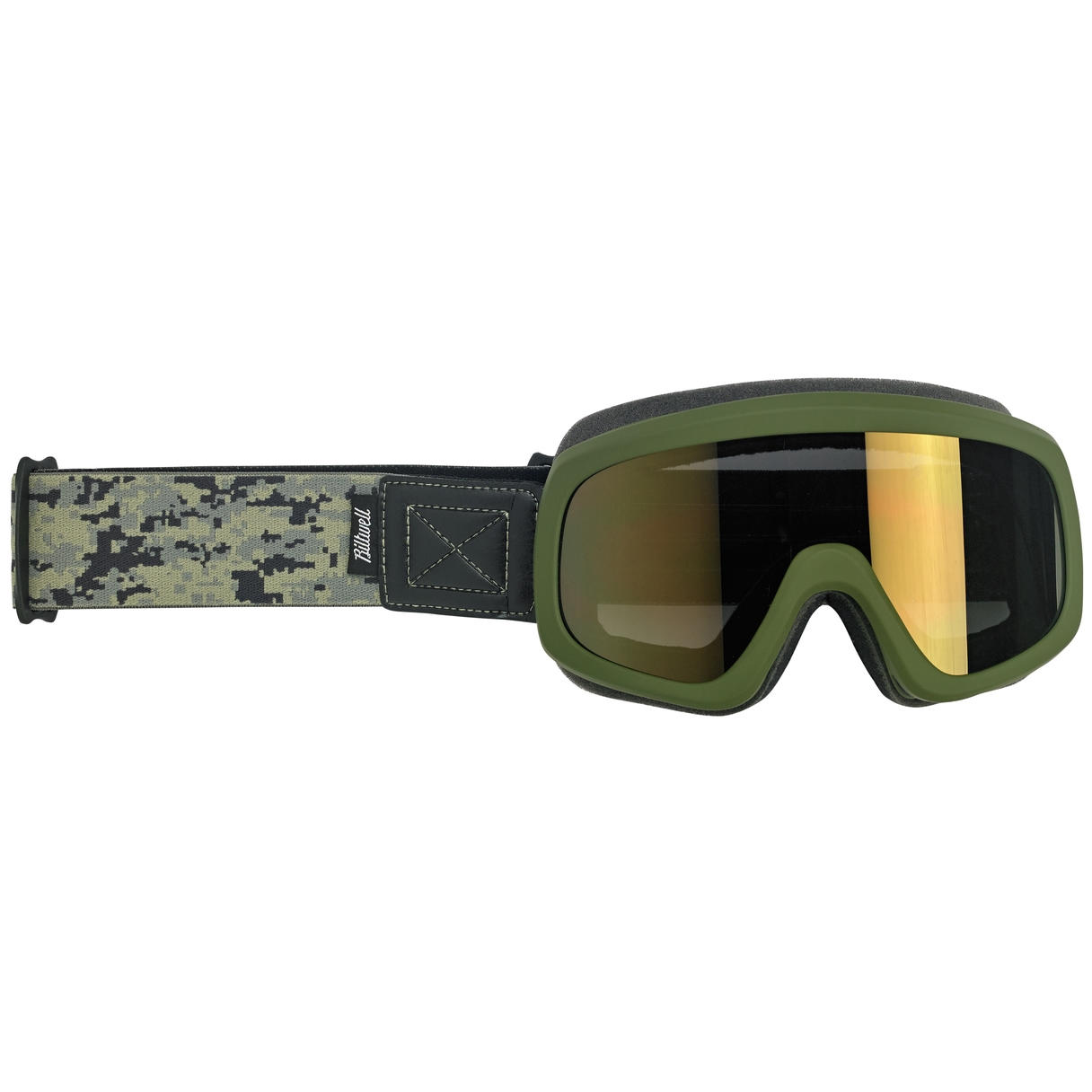 Biltwell Overland 2.0 Goggle, Grunt Olive