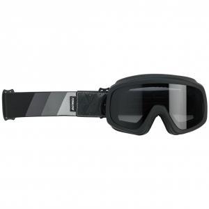 Biltwell Overland 2.0 Goggle, Tri-Stripe Svart/Grå