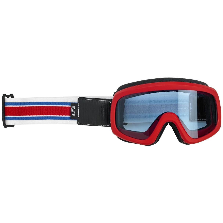 Biltwell Overland 2.0 Goggle, Racer RWB