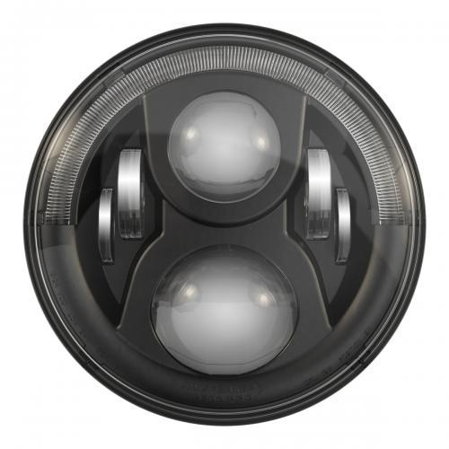 """JW Speaker 7"""" 8700 Evolution 2 LED Framlampa, Svart"""