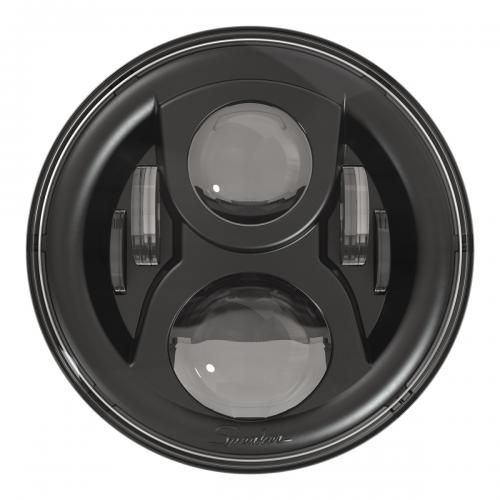 "JW SPEAKER LED FRAMLAMPA 7"" MODEL 8700 EVOLUTION 2 (SVART)"