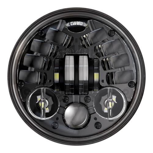 "JW Speaker LED Framlampa 5,75"", 8690 Adaptiv 2 Svart"