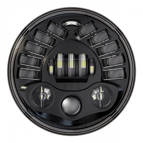 "J.W Speaker LED Headlight 7"" Model 8790, Black"