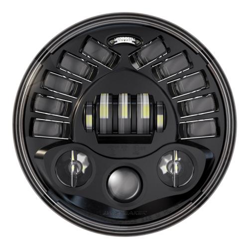"JW Speaker LED Framlampa 7"" - 8790 Adaptiv 2 Svart"