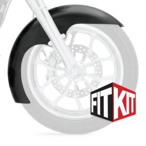 Klock Werks framskärm Level till 2014+ FLH 16,17,19 Tum