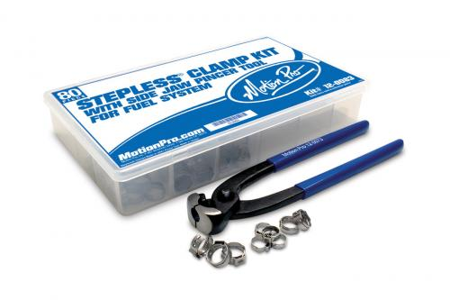 Motion Pro Bränsleslang Clamp Kit, 80 Delar