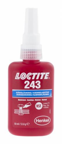 Loctite Gänglåsning Blå 243
