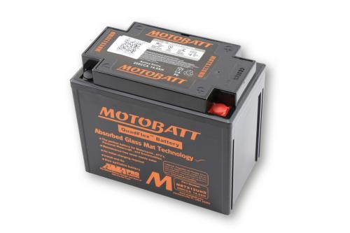 MOTOBATT batteri MBTX12UHD, Svart