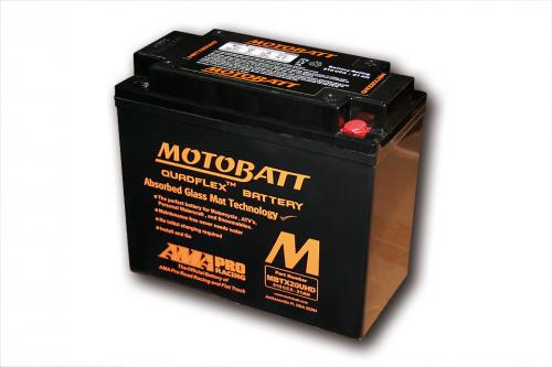 MOTOBATT battery MBTX20UHD, black housing, 4-ports