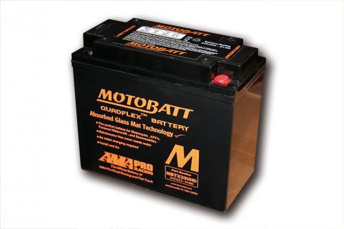 MOTOBATT battery MBTX20UHD, black housing, 4-ports