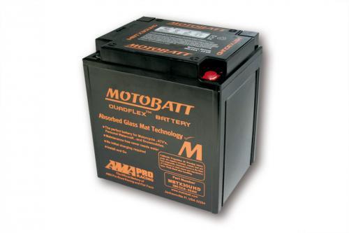 MOTOBATT batteri MBTX30UHD, Svart, 4-poler