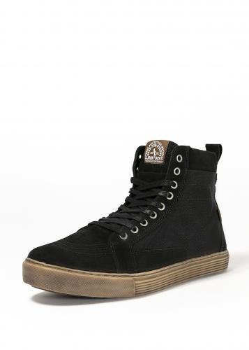 John Doe Neo MC-Sneaker, Svart/Brun