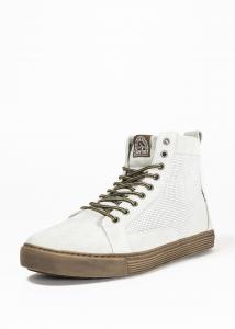 John Doe Neo MC-Sneaker, Vit/Brun