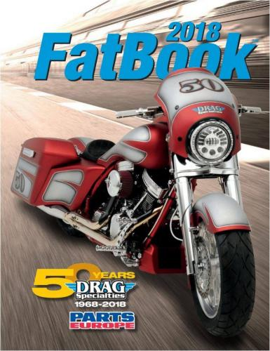 Drag Specialties Fatbook Katalog 2018