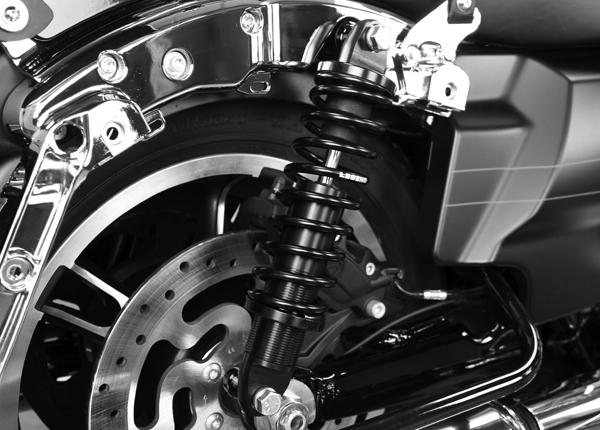 Legend Revo Harley Davidson FL Fjäderstötdämpare 99 - 2019