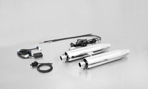 Remus SC 15 justerbart Avgassystem - Harley Davidson Softail FS2, 2011-16 Krom