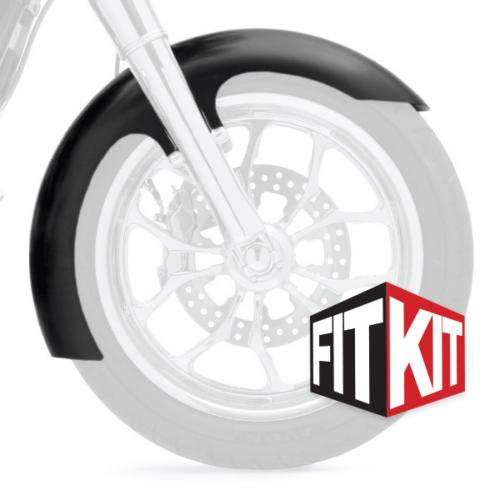 Klock Werks framskärm Slicer till 2014+ FLH 16,17,19 Tum