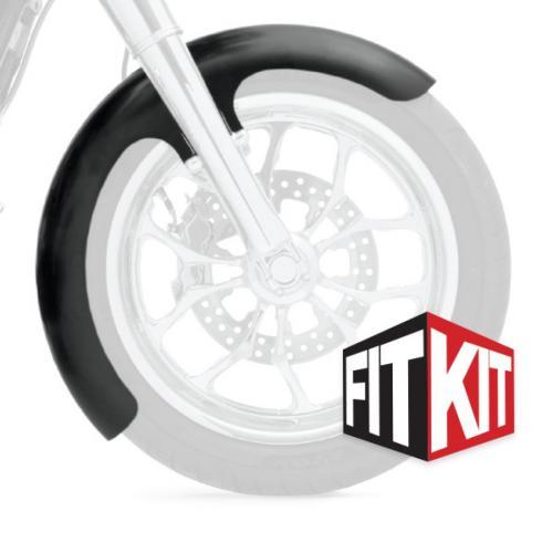 Klock Werks framskärm Wrapper till 2014+ FLH 16,17,19 Tum