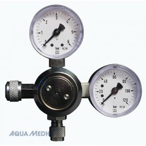 Aqua Medic CO2 regulator med två mätare  Manometer