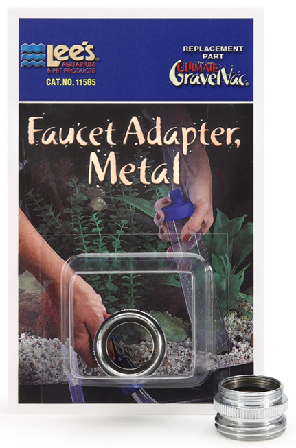 Gravel Cleaner adapter metal