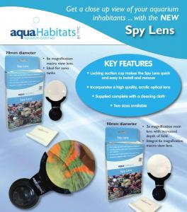 TMC AquaHabitats Spy Lens 70 mm