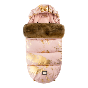 Footmuff Pink Golden Collection