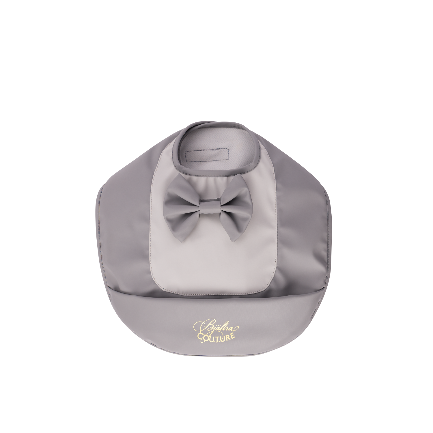 Bib Grey Bow