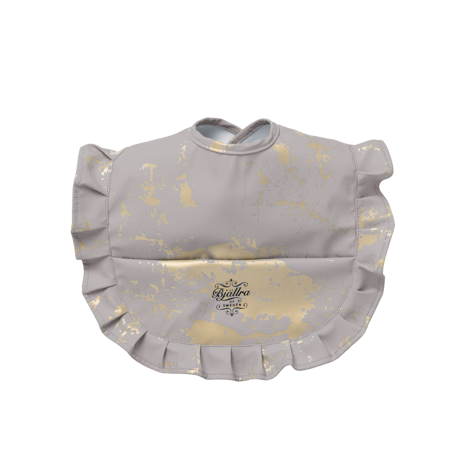 Bib, Grey Golden Collection