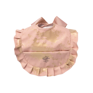Bib, Pink Golden Collection