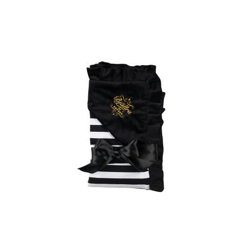 Pearl Velvet Blanket, Stripe collection