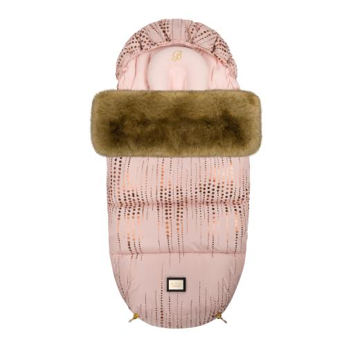 Footmuff Rose Gold